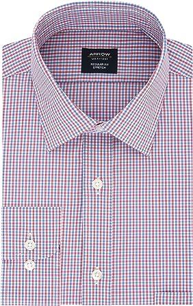Arrow - Camisa de vestir para hombre, ajuste regular, diseño ...