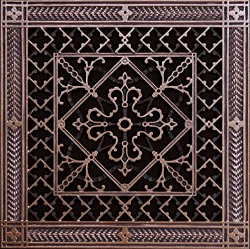Decorative Wall Vent Covers these decorative round grills can be used on the wall or ceiling but are not recommended vent coversair Decorative Grille Vent Cover Or Return Register Made Of Urethane Resin To Fit