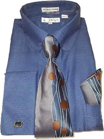 Karl Knox SX4412 - Camisa de Vestir para Hombre, Cuello ...