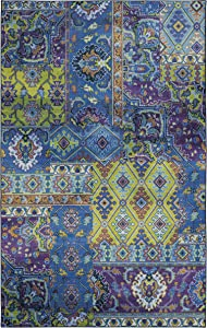 Mohawk Home Odell Lime Green Area Rug, 8'x10',