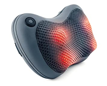 Amazoncom Sharper Image Shiatsu Massage Pillow With Heat Deep