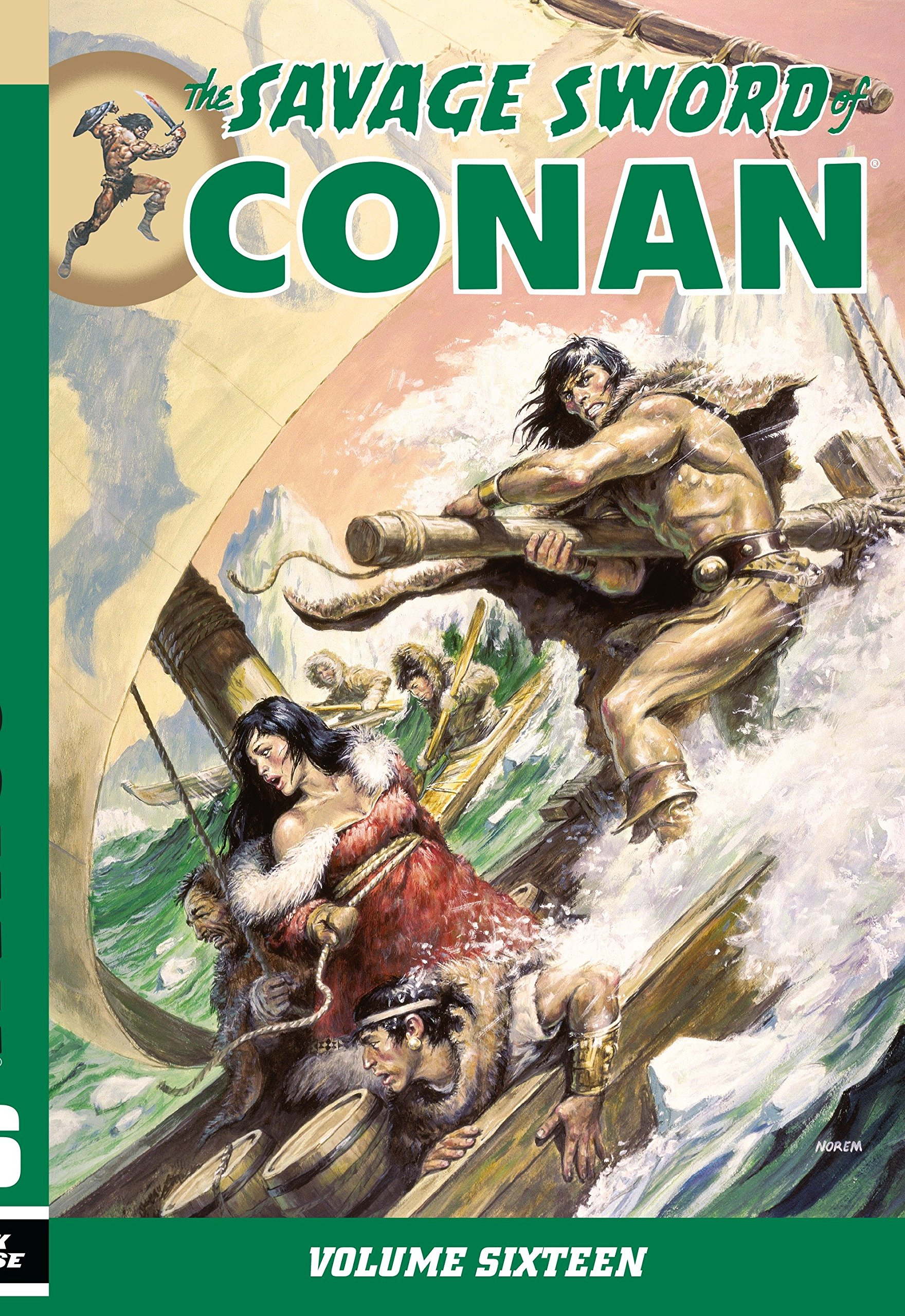 Savage Sword of Conan Volume 16 pdf epub