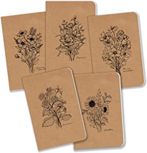 Field Journal/Pocket Notebook by Bright Day - 3.5