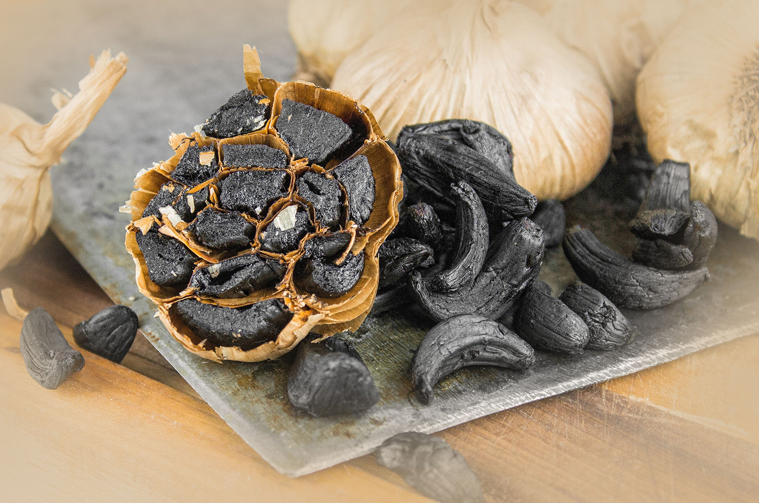 Peeled Black Garlic (1 lbs) Kosher Certified