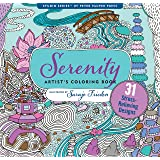 Serenity Adult Coloring Book (31 stress-relieving designs) (Studio Series Artist's Coloring Book)