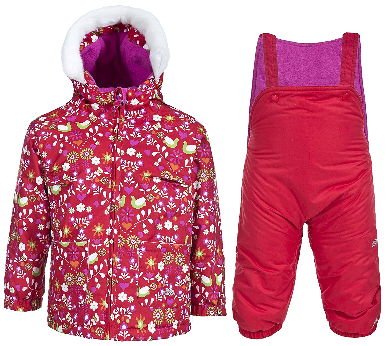 44a877ad0944 Amazon.com   Trespass Kids Squeezy Ski Suit   Clothing