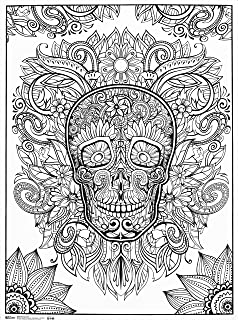 sugar skull poster to color day of the dead poster by artzone - Posters To Color