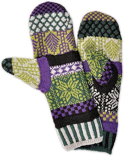 Mismatched Fleece Lined Mittens Solmate Socks
