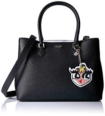 49fd0479686 GUESS Pin Up Pop Shopper Black: Handbags: Amazon.com
