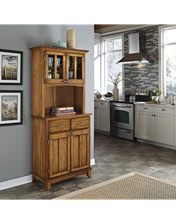 Kitchen buffet hutch Country Home Styles 5001006662 5001 Series Cottage Oak Wood Top Buffet Server And Amazoncom Buffets And Sideboards Amazoncom
