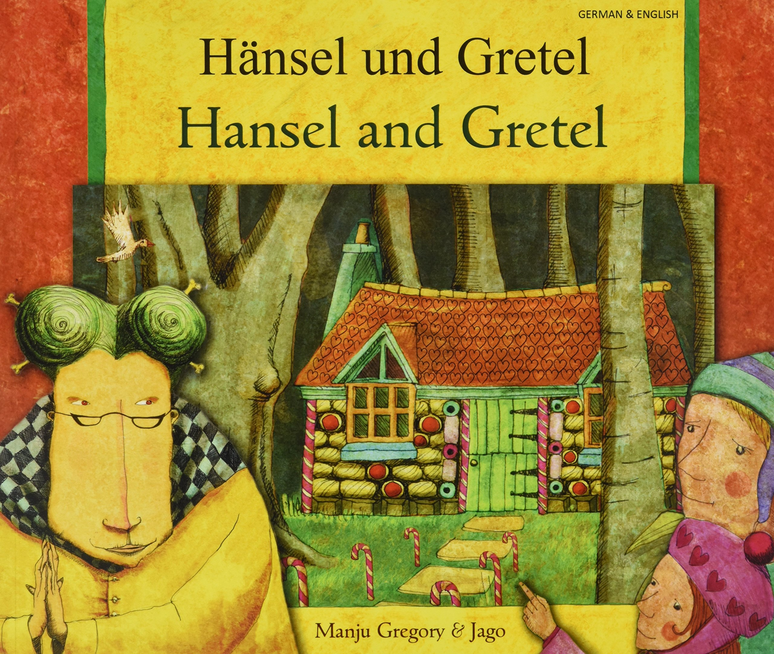 Hansel and Gretel in German and English (English and German Edition) by Mantra Lingua