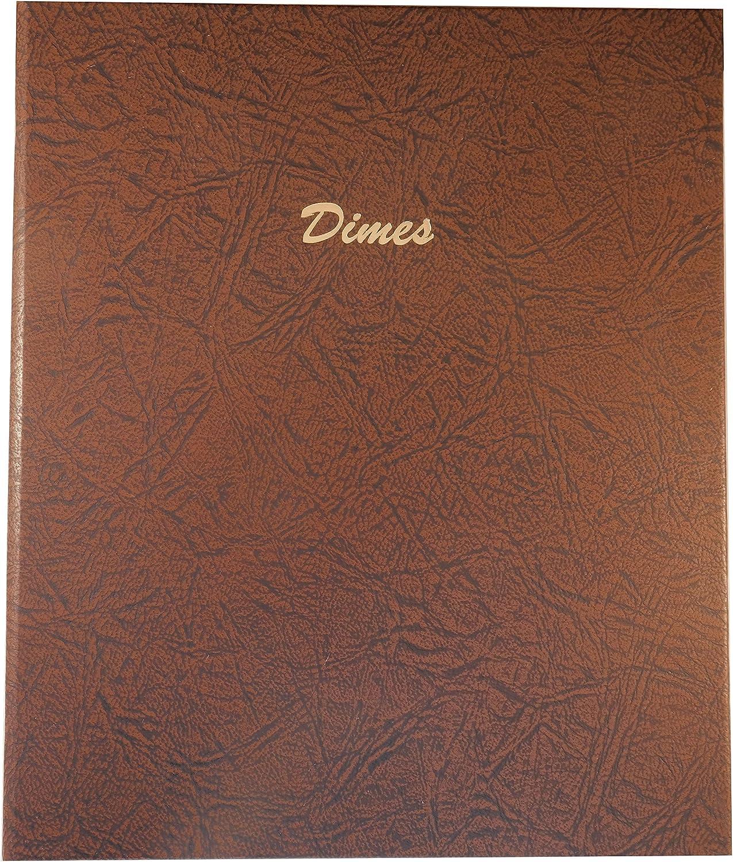 Dansco Coin Album 7117 Nickels Blank 140 Ports