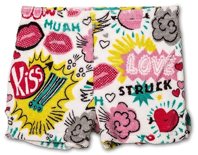 b97e302042 Amazon.com  Up Past 8 Girls Plush Pajama Shorts