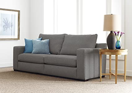 Superbe Serta Geneva 85u0026quot; Sofa In Cozy Gray