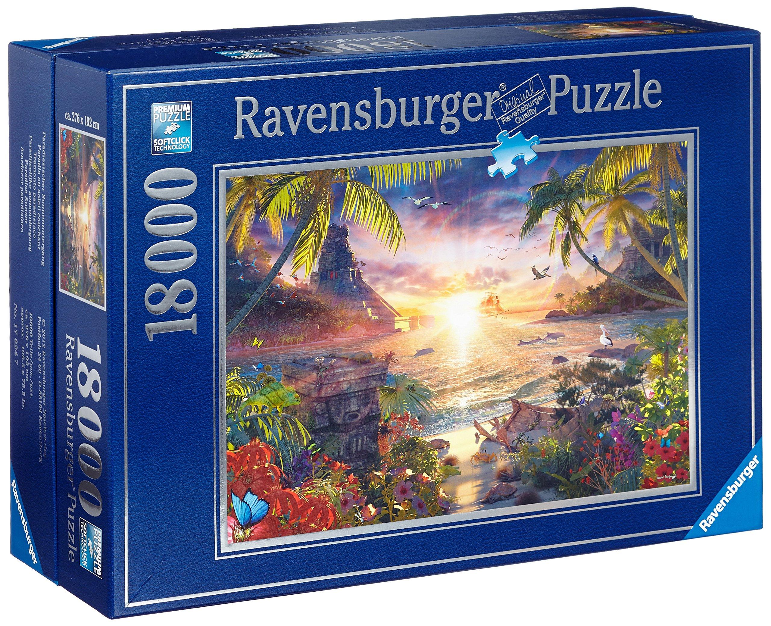 Paradise Sunset Jigsaw Puzzle, 18000-Piece