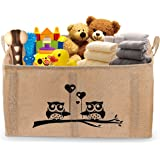 """Gimars X-Large Well Standing 26"""" Toy Chest Baskets Storage Bins for Dog Toys, Kids & Children Toys, Blankets, Clothes - Perfect for Playroom & Shelves"""