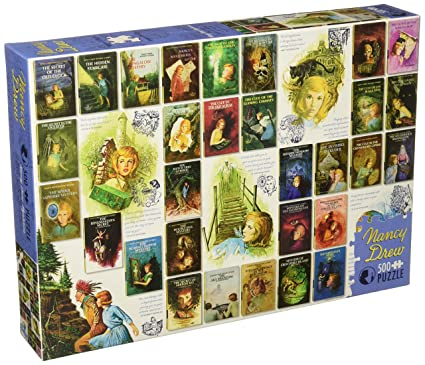 cobble hill puzzle  : Cobble Hill Nancy Drew Mysteries Jigsaw Puzzle (500 ...