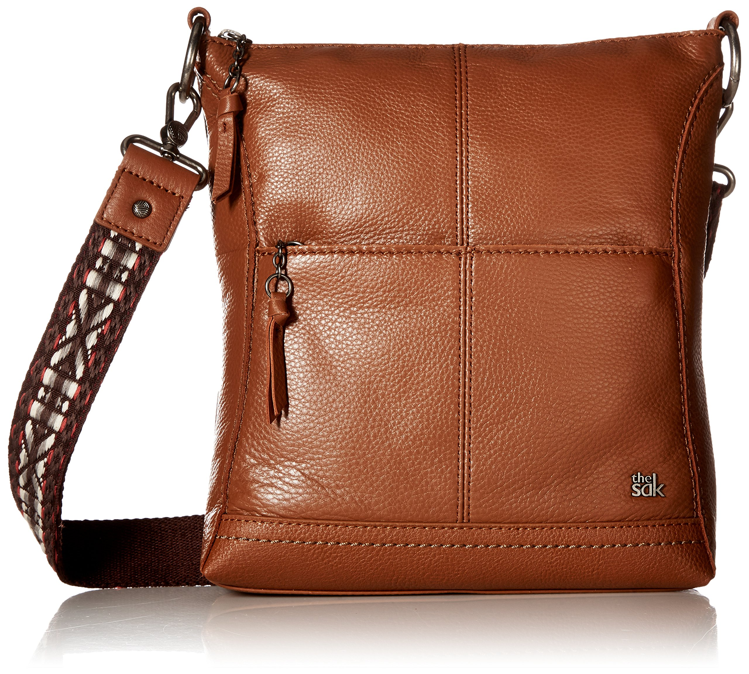 The Sak Women's Lucia Crossbody Tobacco Crossbody Bag