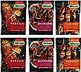Wild Garden Quick Marinade 6 Pack Variety Pack, 6 Oz Each (2- Persian, 2- Shawarma, 2- Turkish)