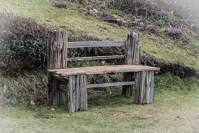 overstock today bench gerrit home mercier butler shipping product garden free driftwood