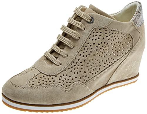 cdbc2034d1 Geox Women's D Illusion B Trainers: Amazon.co.uk: Shoes & Bags