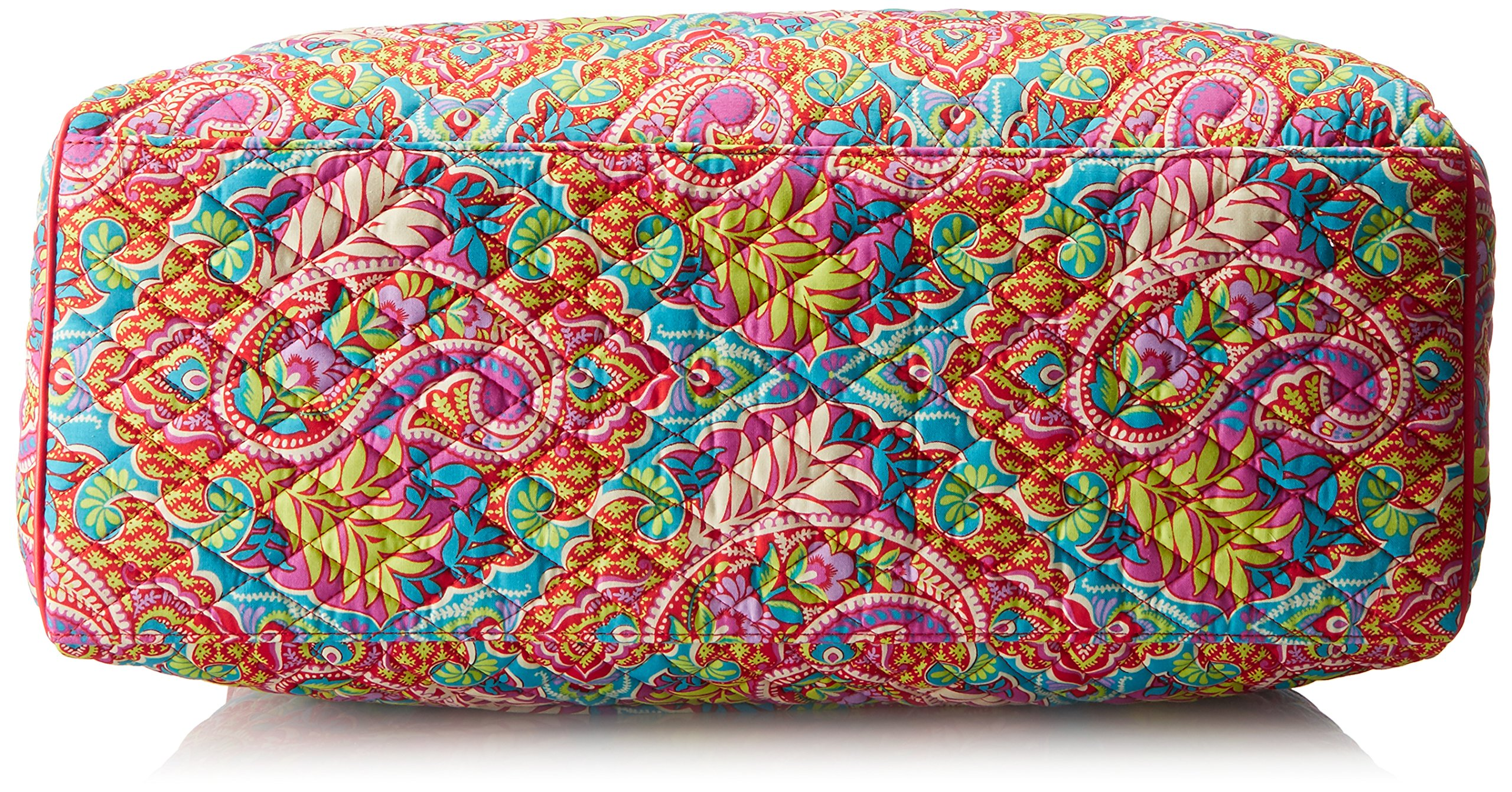 Vera Bradley Women's Triple Compartment Travel Bag, Paisley in Paradise Red by Vera Bradley (Image #4)