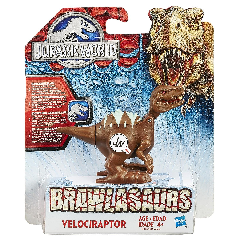 Jurassic World Brawlasaurs Velociraptor Blue Figure by Jurassic Park: Amazon.es: Juguetes y juegos
