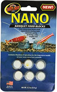 Zoo Med Laboratories AZMBB9 Nano Banquet Block Mini, net WT, 0.3 oz