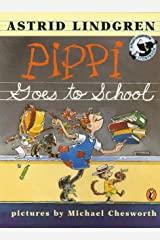 Pippi Goes to School Paperback