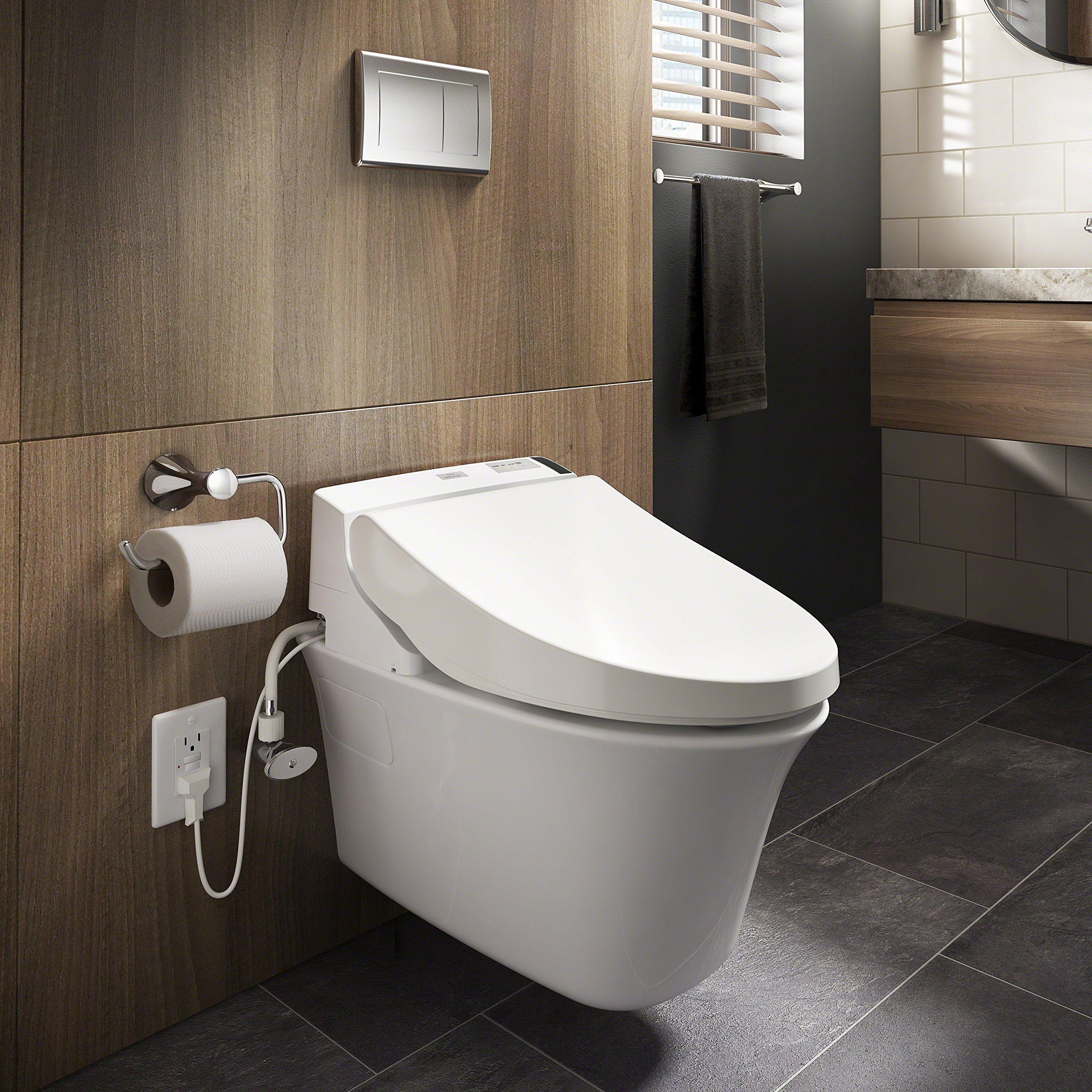 TOTO Washlet C200 Elongated Bidet Toilet Seat with PreMist, Cotton White - SW2044#01 by TOTO (Image #9)