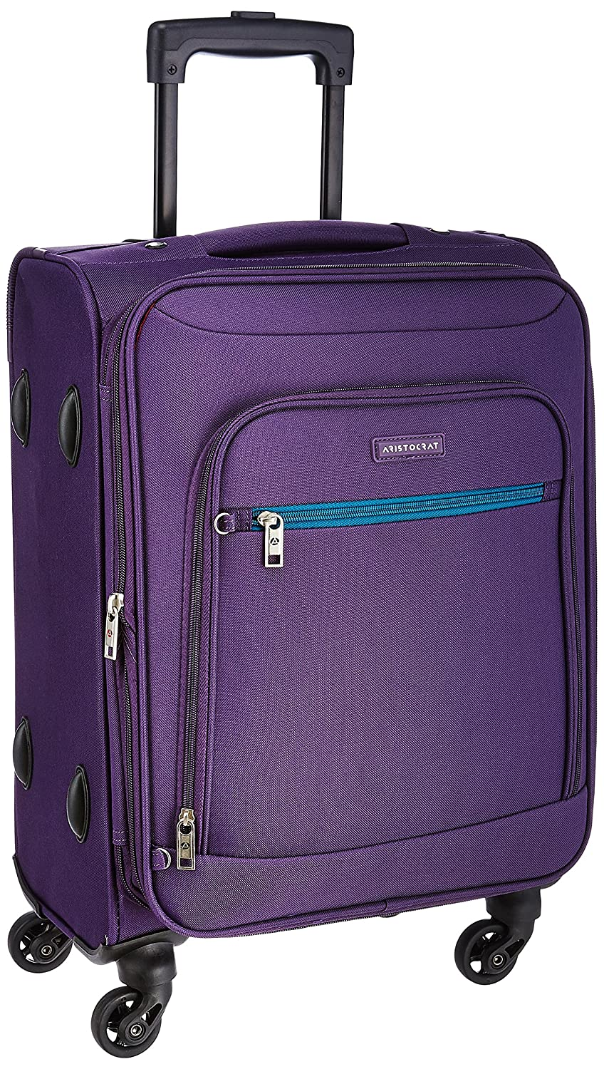 Aristocrat Nile Polyester 54 cms Purple Soft Sided Carry-On