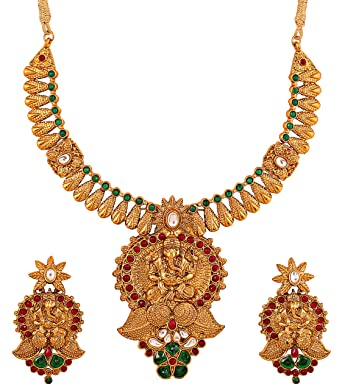 Ethnic, Regional & Tribal Strong-Willed Indian Handmade Wedding Fashion Jewelry Gold Plated Women Ethnic Earring Tikka Firm In Structure