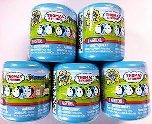 Mashems Thomas and Friends 5 Capsule Bundle Random Mix