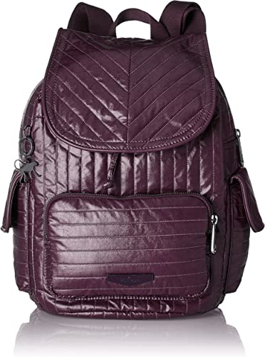 Kipling - City Pack S, Mochilas Mujer, Violett (Aubergine), 27x33 ...