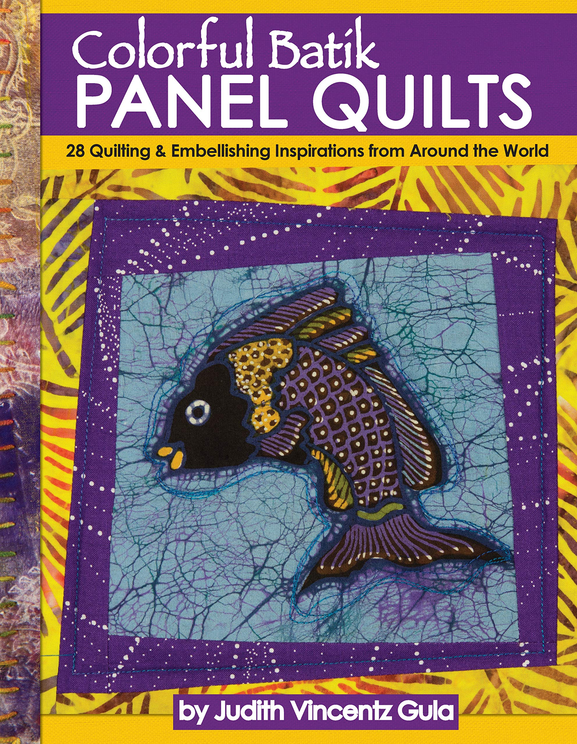 Bold Batik Quilts ~ 6 Quilt Projects sewing pattern booklet NEW