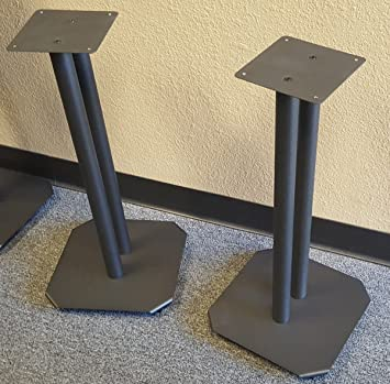 Steel Speaker Stands For Fill Ablesmall To Medium Bookshelf Speakers By Vega