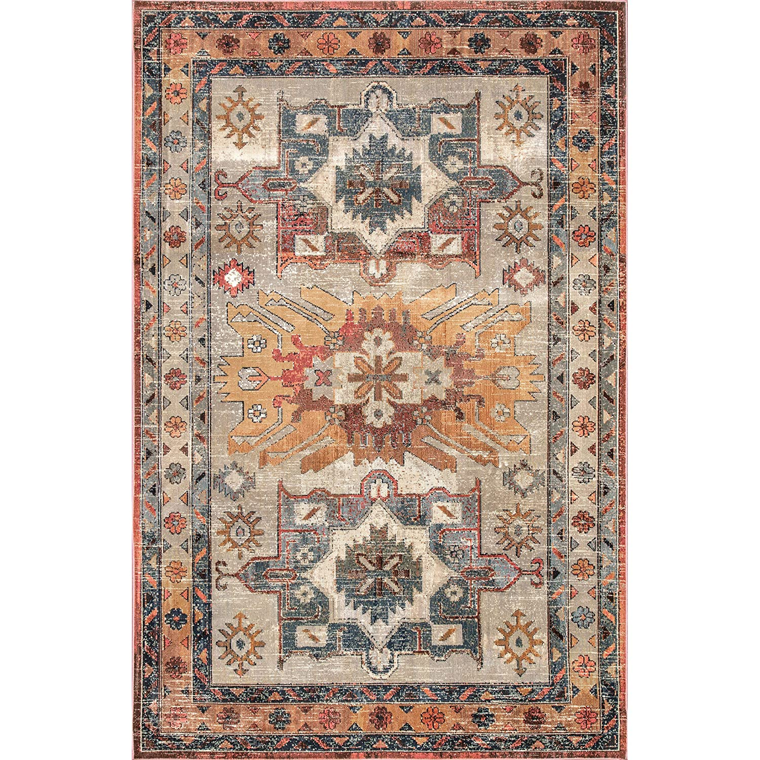 nuLOOM Linda Tribal Area Rug, 5 3