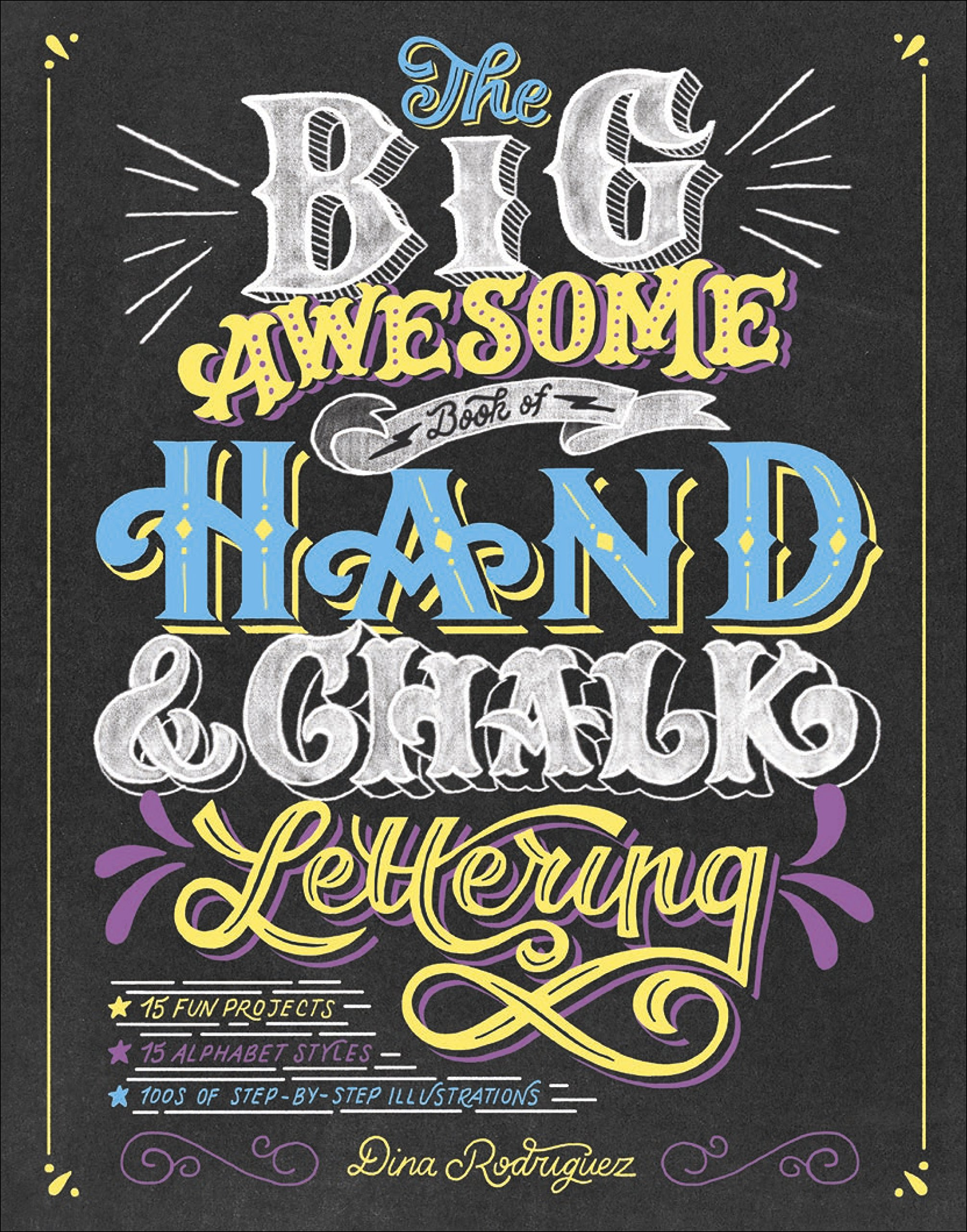 Awesome Book Hand Chalk Lettering product image