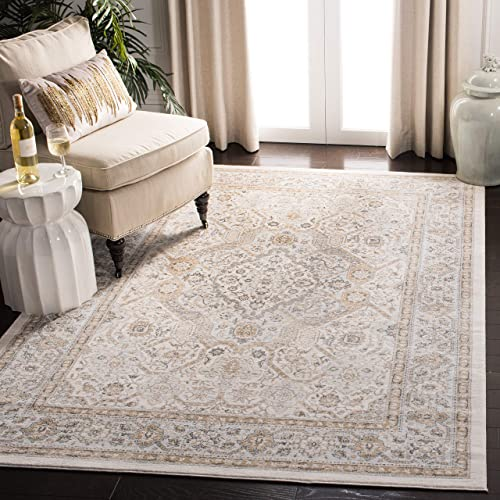 Safavieh Isabella Collection ISA916B Oriental Non-Shedding Stain Resistant Living Room Bedroom Area Rug