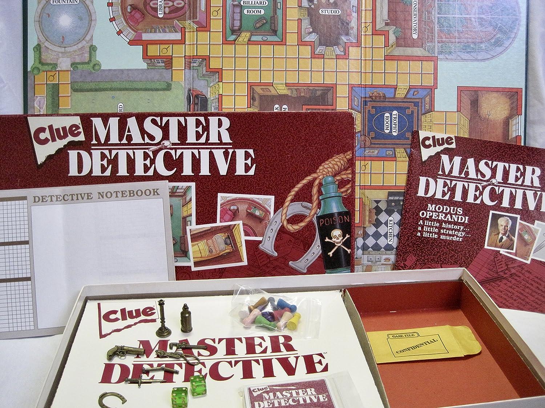 Clue Master Detective Board Game: Amazon.es: Juguetes y juegos