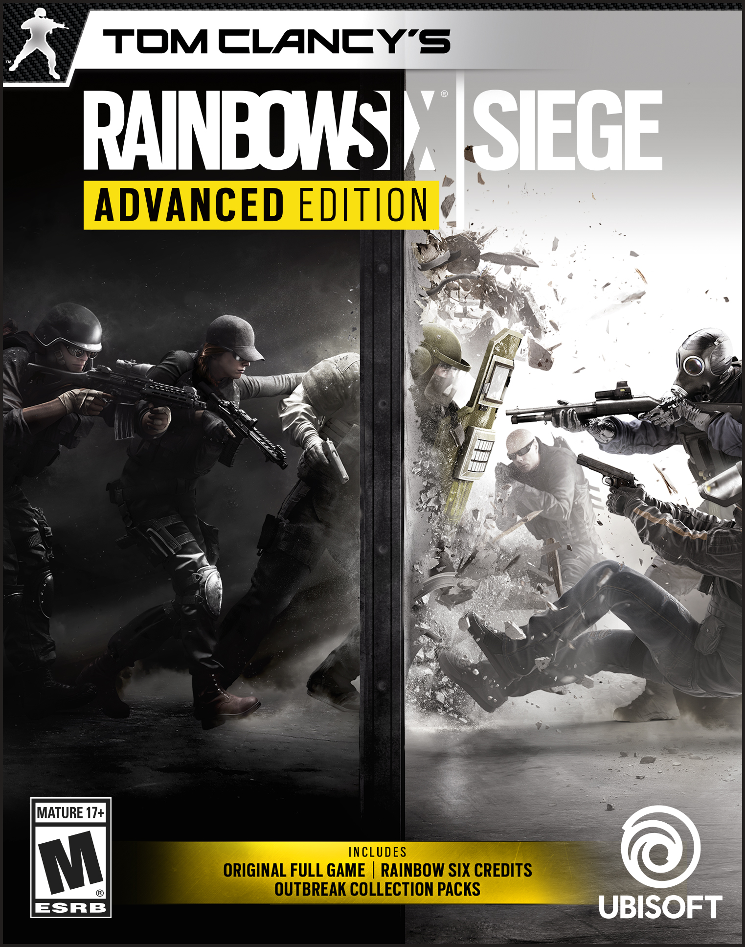 Tom Clancy's Rainbow Six Siege - Advanced Edition [Online Game Code] by Ubisoft