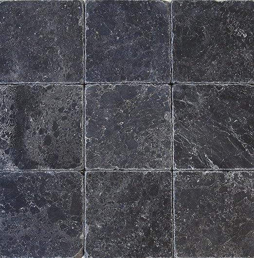 Wohnrausch Wfb1010 Marmor Fliese Black Marble Antik Hell Bis