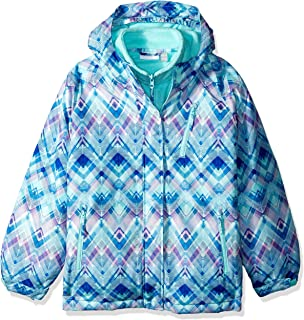 19e36d974 Amazon.com  The Children s Place Big Girls  3 in 1 Winter Jacket ...