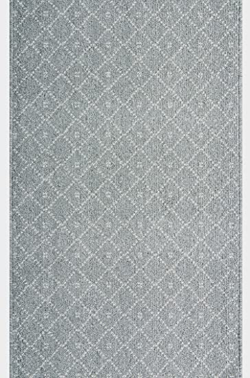 ARISTON Teppichläufer Küchenmatte Teppich Läufer Dunkelgrau 67 cm 80 cm 100 cm