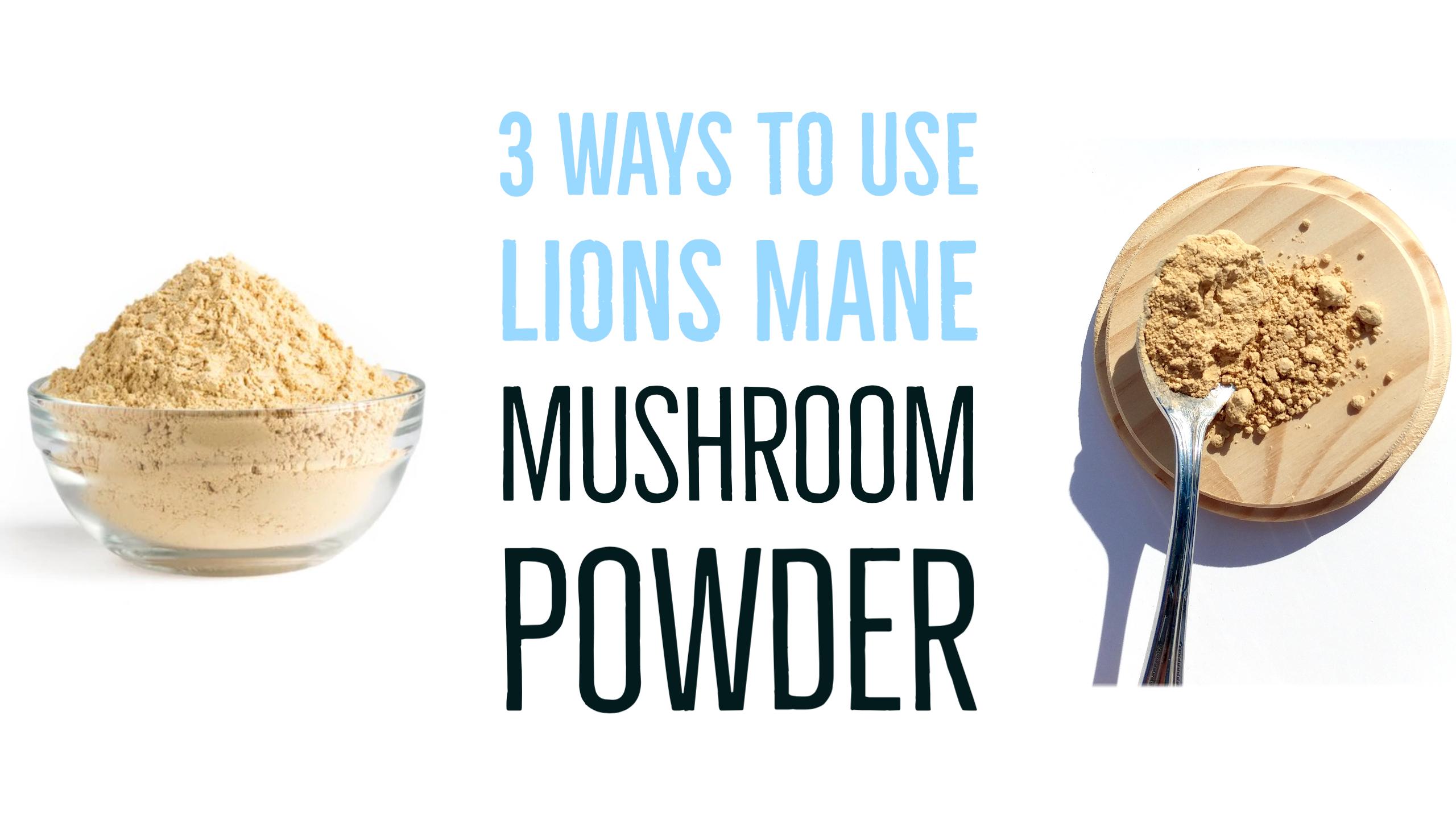 USDA Organic Lion's Mane Mushroom Powder - (3 Month Supply + 100 Servings) Log Grown 100% Fruit Body, Vegan, Memory, Focus, Cognition, Mental Clarity, Nerve Health, 200g