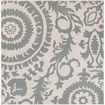 Amazon Com Surya Alf9614 89sq Machine Made Casual Area Rug 8 Feet