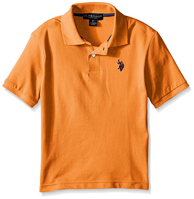 c16f5478b7c Amazon.com  U.S. Polo Assn. Boys  Classic Polo Shirt  Polo Shirts  Clothing