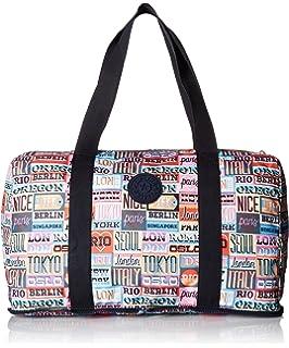c3e93a86b5f Amazon.com: Kipling Women's Honest Solid Packable Duffle Bag, black ...