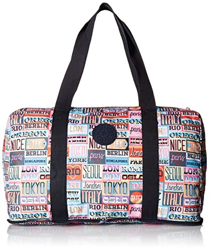 287716b2f528 Amazon.com  Kipling Women s Honest Printed Packable Duffle Bag ...