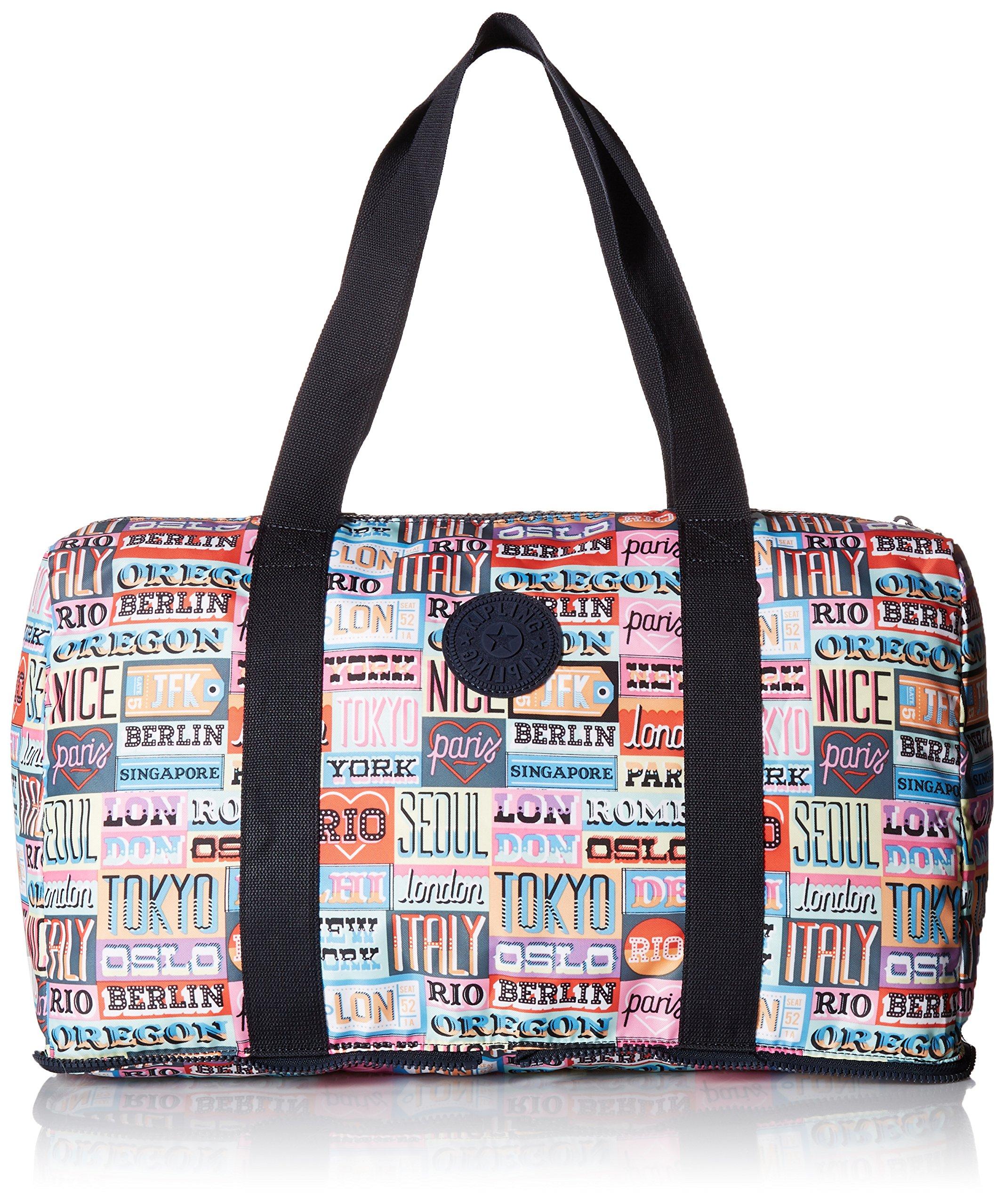 Kipling Women's Honest Printed Packable Duffle Bag, Hlloweeked by Kipling